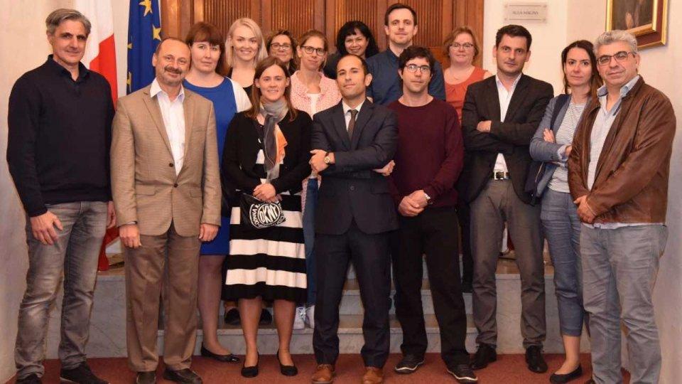 L'Università di San Marino a Malta per le attività di un progetto di ricerca vincitore del bando Erasmus Plus finanziato dalla Commissione Europea