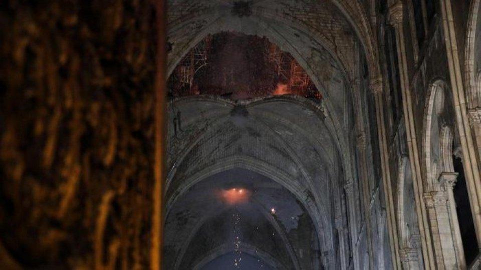 L'interno della Cattedrale. Foto ansa