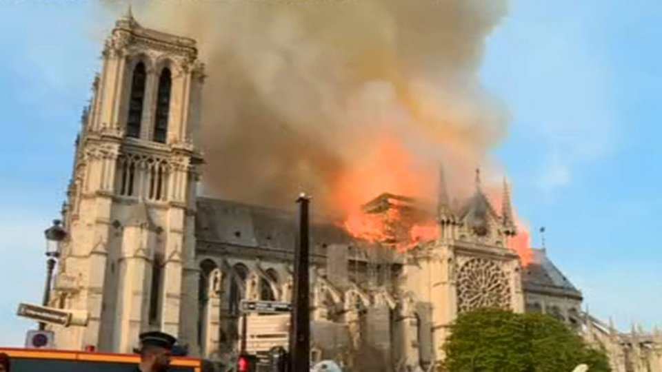 Segreteria Esteri in relazione all'incendio di Parigi