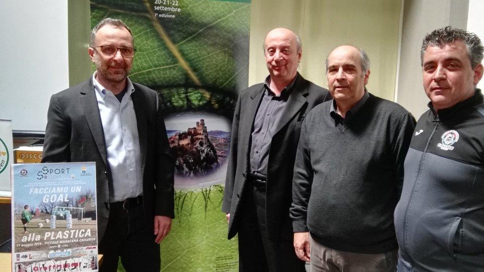 """Così lo sport diventa sostenibile. Da San Marino Green Festival e SP Cailungo la prima azione concreta nella lotta alla plastica"""""""