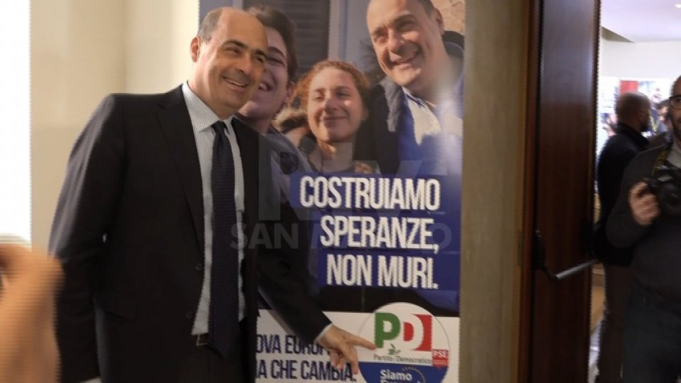 """Nicola ZingarettiZingaretti (Pd): """"L'Europa deve avere una nuova missione contemporanea"""""""