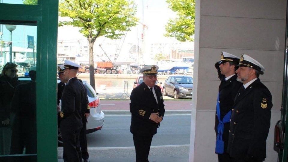 Capitaneria di Porto: visita del Vice Comandante Generale