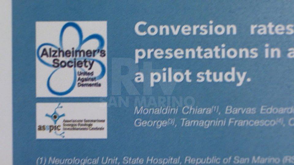 Uno studio sammarinese al convegno mondiale sull'Alzheimer