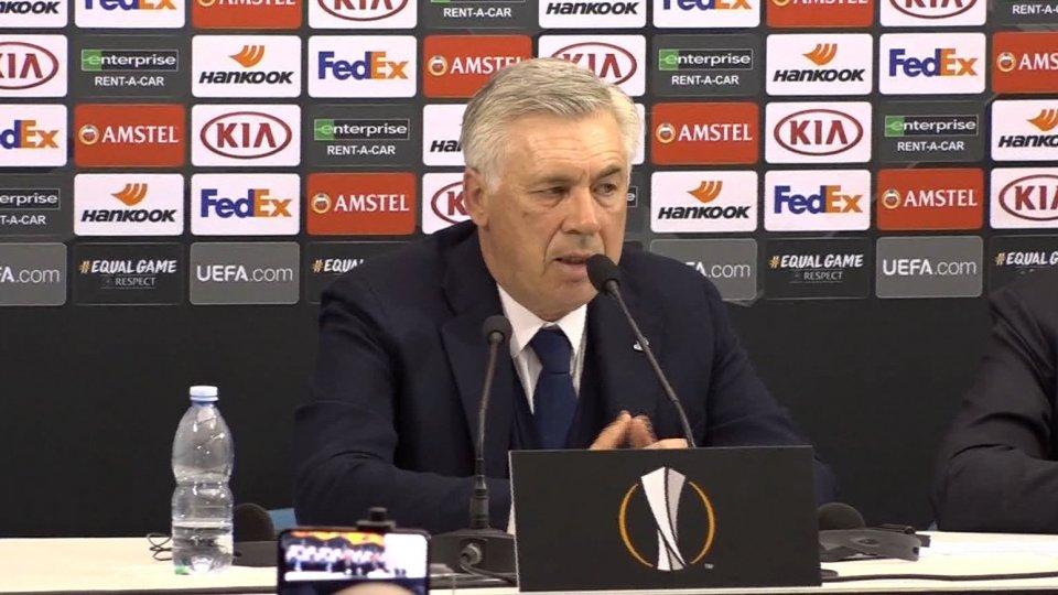 """Carlo AngellottiEuropa League. Ancelotti: """"Non ho niente da rimproverare ai miei giocatori"""""""