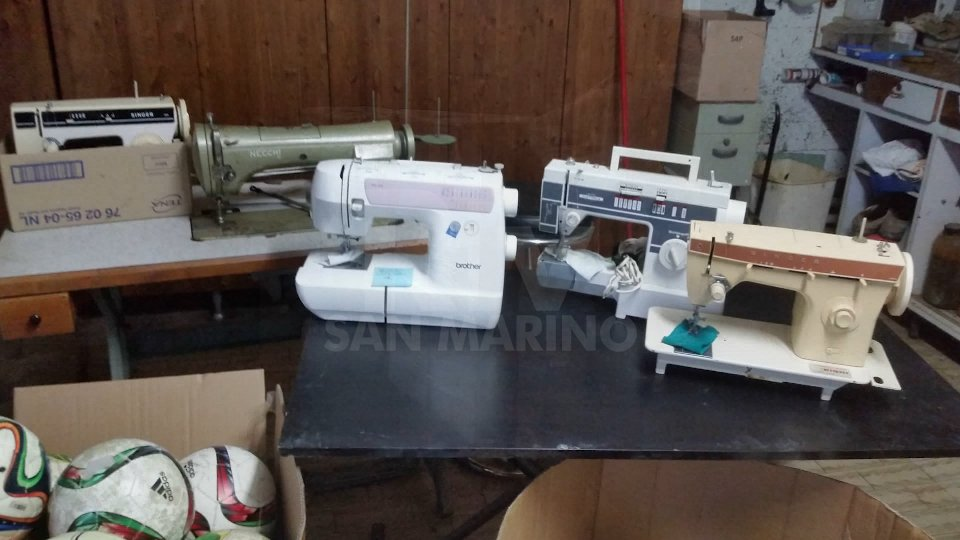 Parte del materiale inviato[VIDEO] San Marino per il Congo, inviato materiale per una scuola di cucito a Kasenga