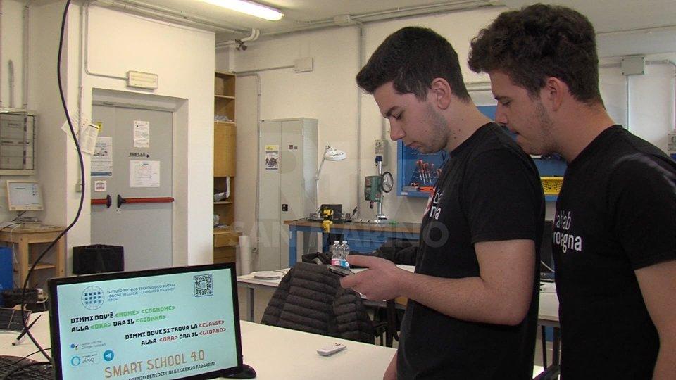 Lorenzo Benedettini e Lorenzo TabarriniNel servizio le interviste a Lorenzo Benedettini, Lorenzo Tabarrini e Maurizio Conti, Fablab Romagna