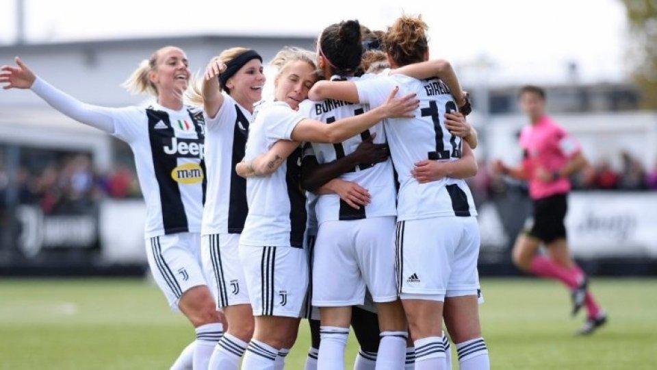 Femminile: Juventus ancora Campione d'Italia, Fiorentina in Champions League