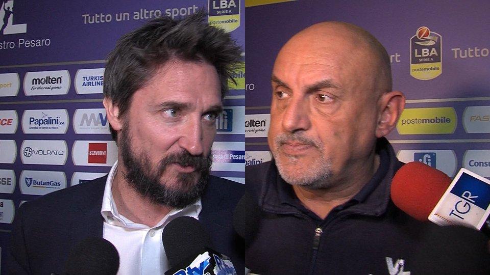Interviste a Matteo Boniciolli e Gianmarco Pozzecco