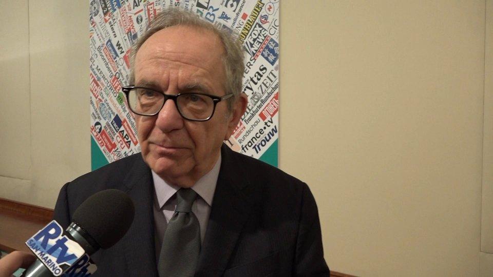Pier Carlo Padoan, ex ministro dell'Economia e deputato Pd