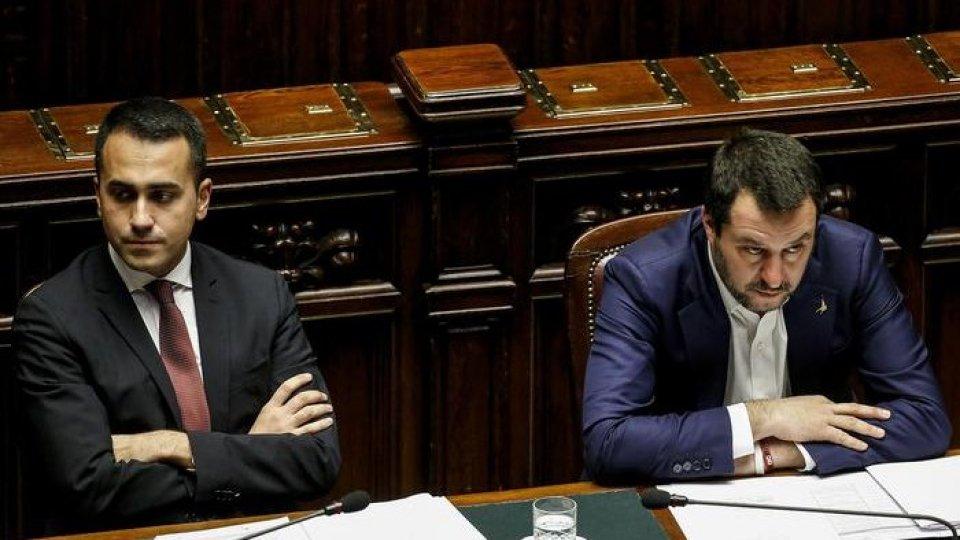 Luigi Di Maio e Matteo Salvini. Foto ansaLega e M5S litigano sulla norma Salva-Roma