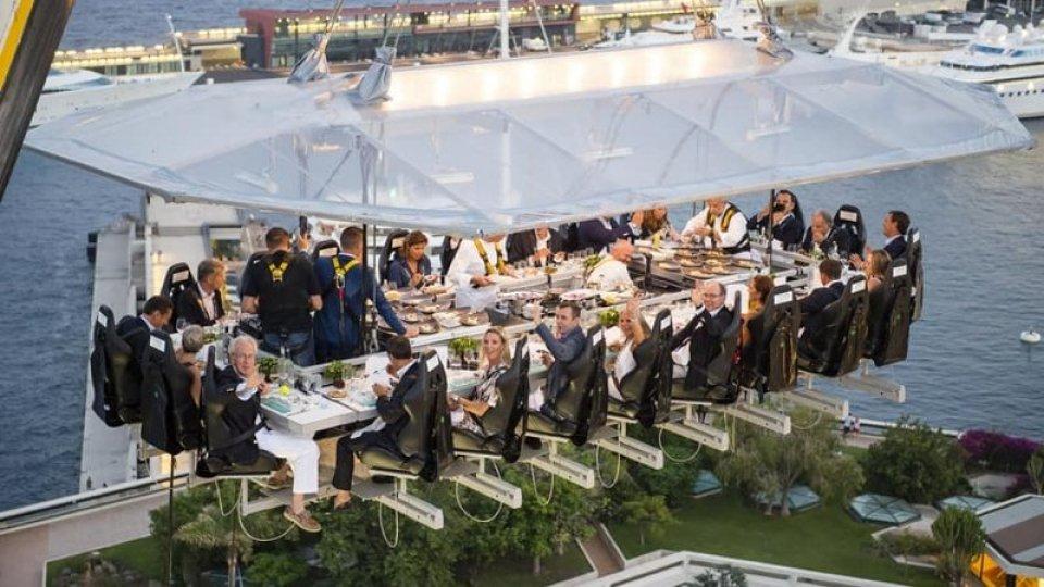 Dinner in the sky, dopo lo stop atteso il via libera della commissione