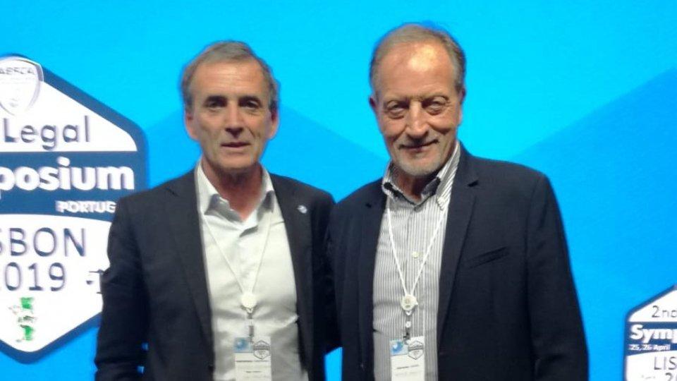 Giampaolo Mazza, presidente ASAC con Renzo Ulivieri, presidente AIAC