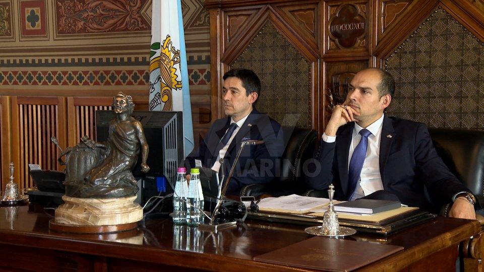 I Capitani Reggenti Nicola Selva e Michele Muratori