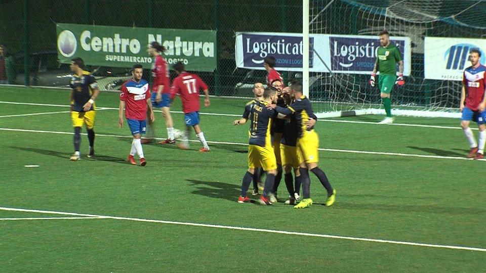 il gol di OliviLa Fiorita parte con un gol di Olivi