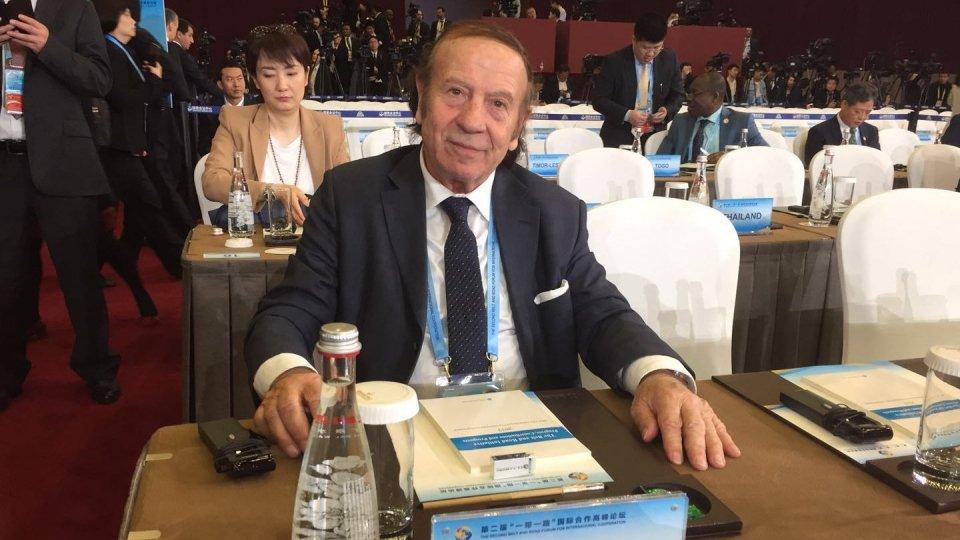 Gianfranco Terenzi a Pechino per il 2° forum sulla Via della Seta