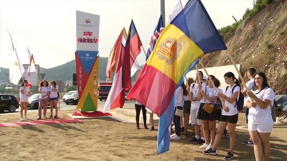Montenegro 2019: mancano 30 giorni ai Giochi dei Piccoli Stati