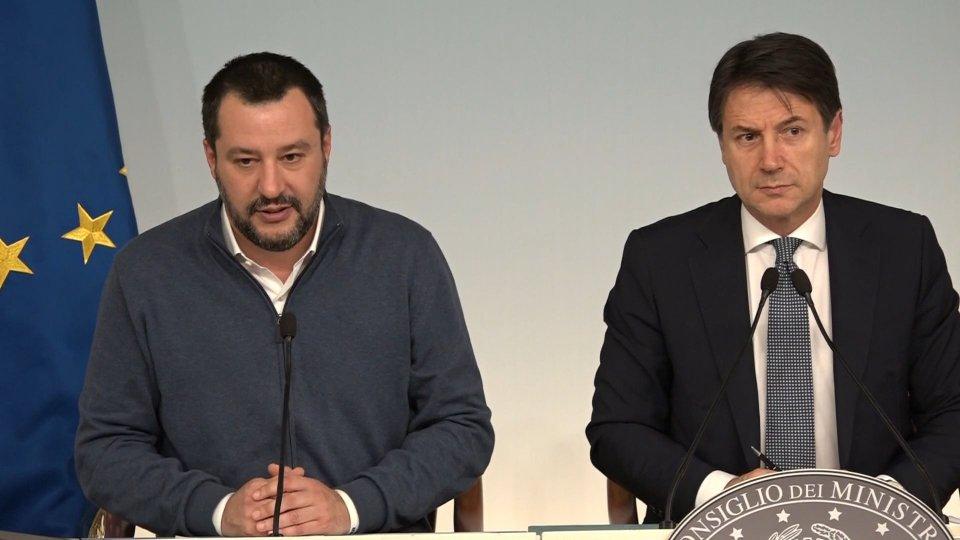 Matteo Salvini Giuseppe Conte