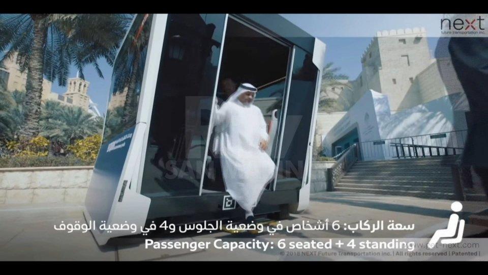 Dall'Italia il taxi-bus che rivoluziona i trasporti di Dubai