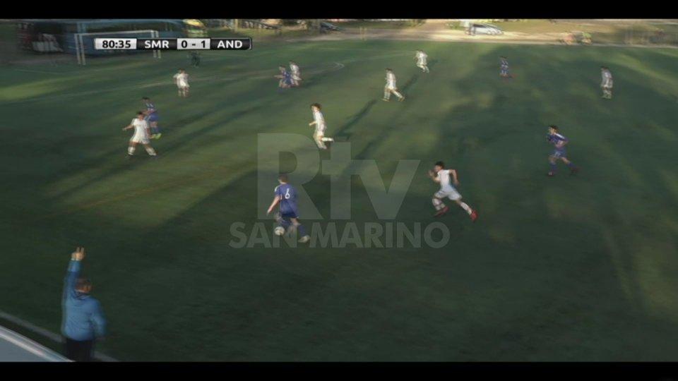 Under 16: San Marino ko anche contro Andorra