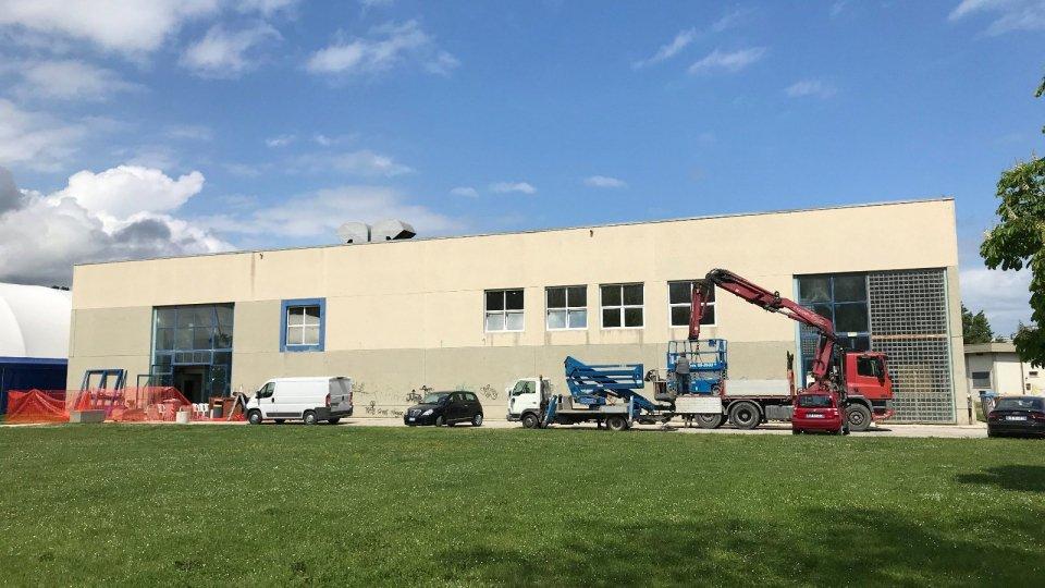 Palasport di Misano chiuso tre settimane per lavori di riqualificazione