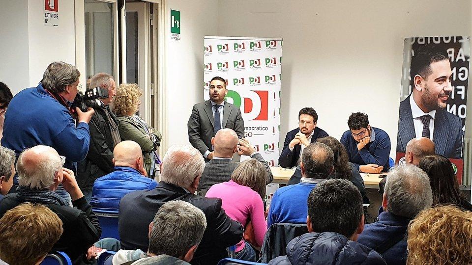 Tanta gente alla presentazione della lista del Partito Democratico a Lugo, a sostegno di Ranalli