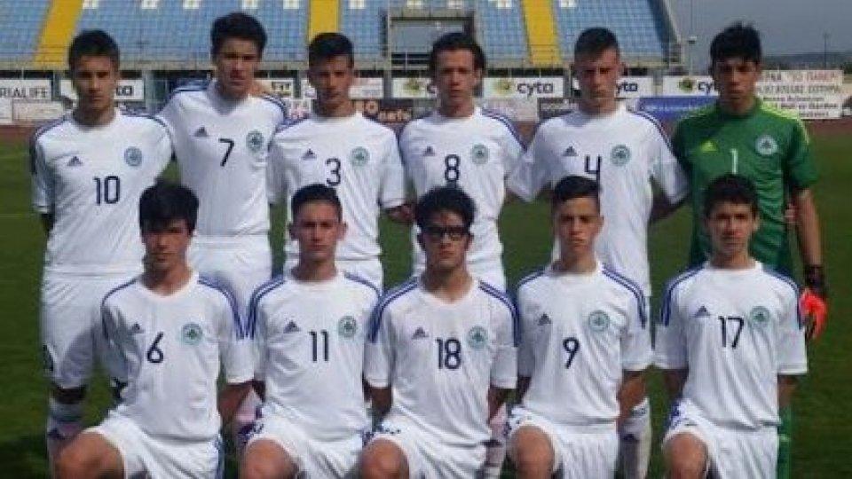 L'Under 16 sfiora il vantaggio, poi cede 2-0 al Kosovo