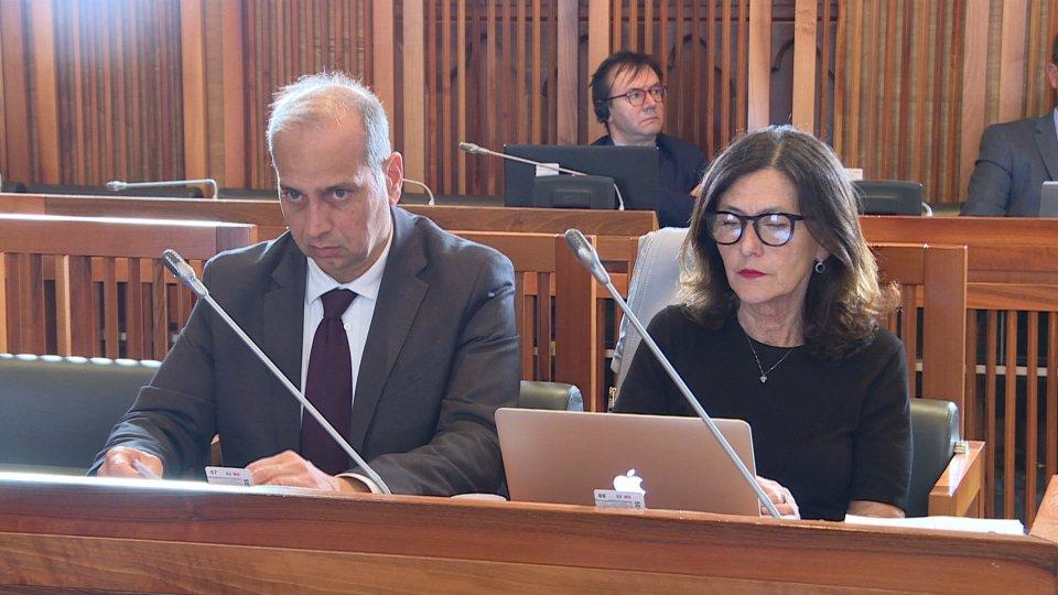 i Vertici Iss in commissionei lavori della commissione
