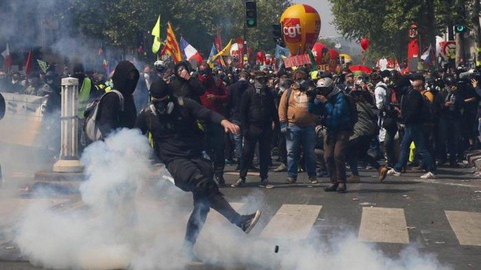 La situazione a Parigi. Foto ansa