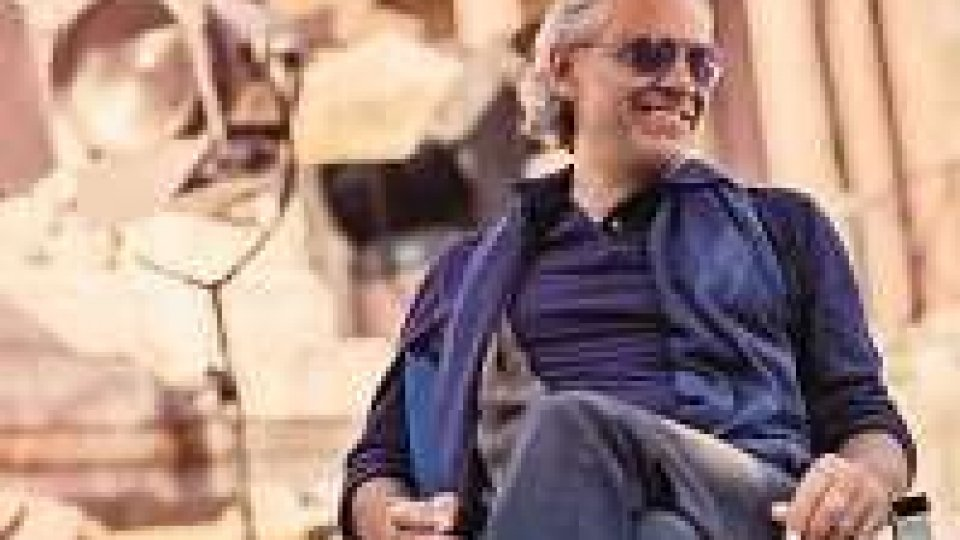 Andrea Bocelli conquista il disco di platino