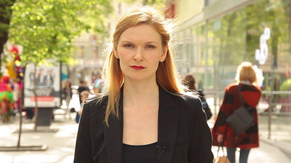 Victoria PolischukDall'Ucraina Victoria Polischuk