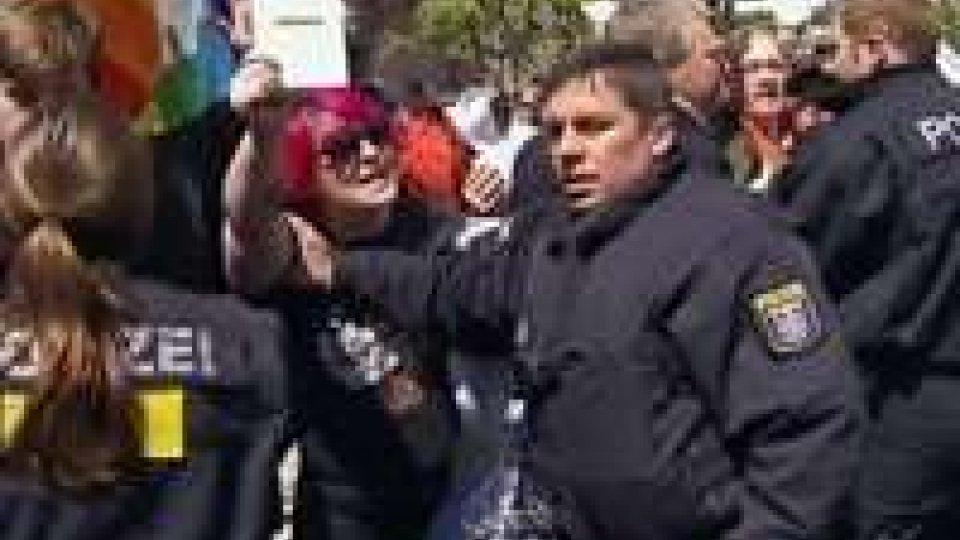 Blockupy, 45 italiani fermati a Francoforte