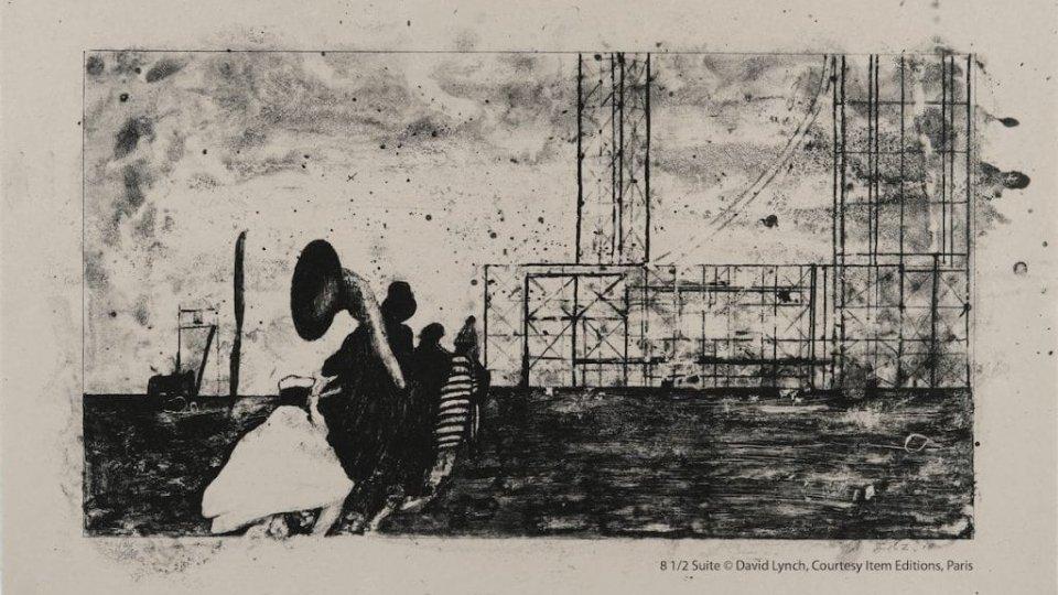 """""""David Lynch. Dreams. A Tribute to Fellini"""", la mostra a Castel Sismondo prorogata fino a domenica 19 maggio"""