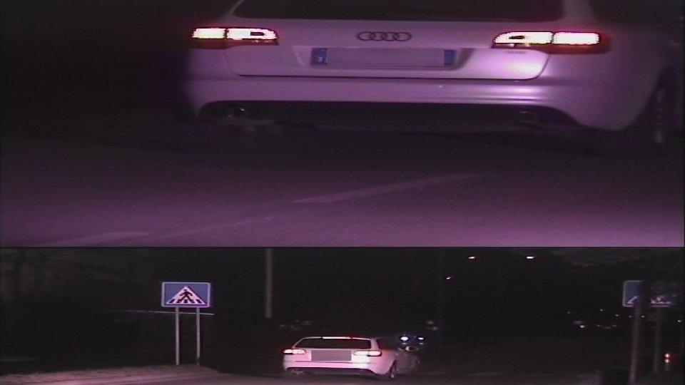 L'auto rilevata su Via Settembrini a 126 km/h