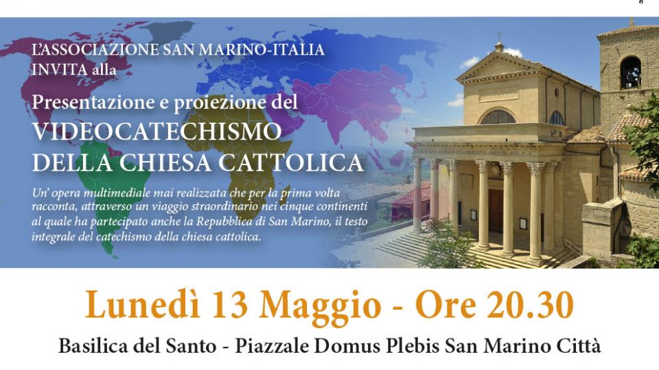 """""""Videocatechismo nella chiesa cattolica"""". Lunedì 13 maggio alle 20.30 alla Basilica del Santo"""