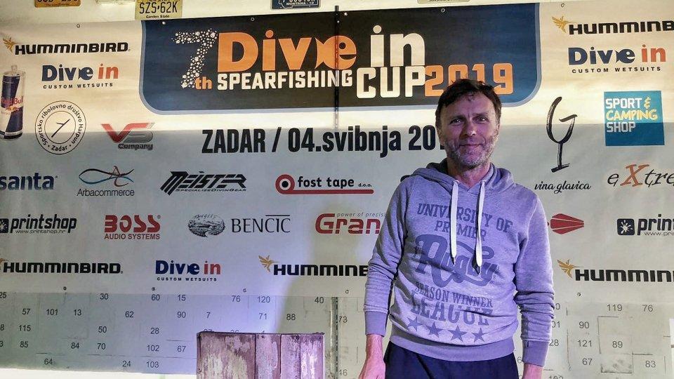 Pesca in apnea: Macaluso 16° alla DiveIn Cup a Zara