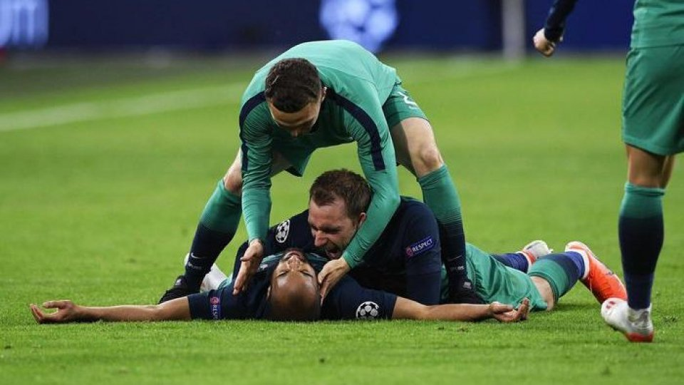 Champions League: Ajax Tottenham 2-3, tripletta di Lucas Moura