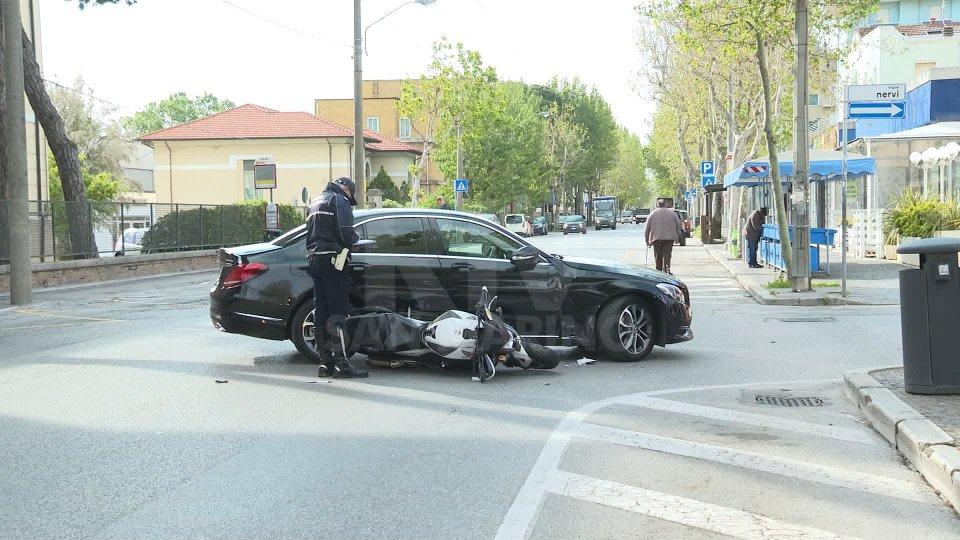 incidente sul lungomareDiversi incidenti sulle strade della Romagna nelle ultime ore