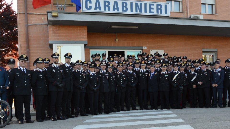 Visita del Comandante Generale dell'Arma dei Carabinieri, Generale di Corpo d'Armata Giovanni Nistri, al Comando Provinciale di Rimini