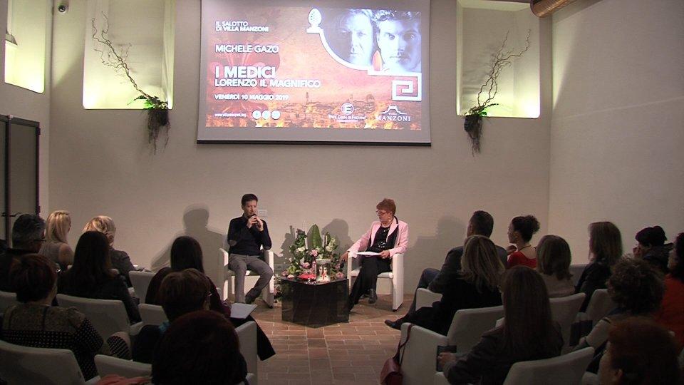 Michele Gazo a Villa Manzoni