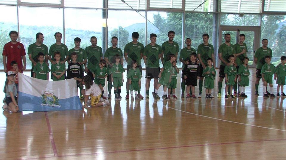 Quadrangolare amichevole di Futsal tra Virtus, Pennarossa, Società Sportiva Gatteo, e i francesi del Rivois
