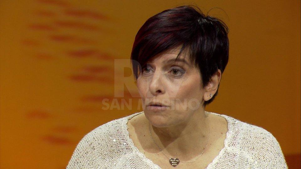 Sabrina GuerraNel video Sabrina Guerra, mamma di Bryan Toccaceli e Veronica Valentini, mamma di Martino