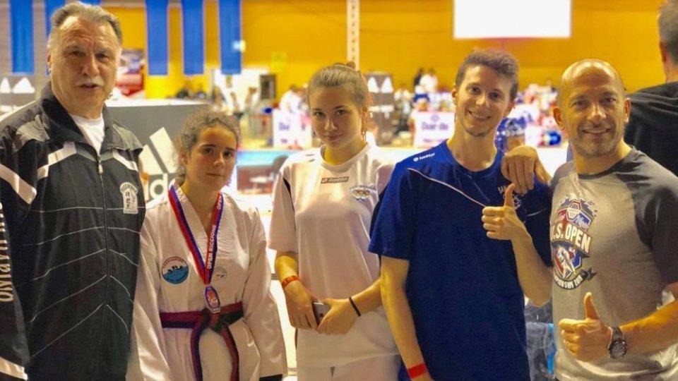 Taekwondo: Open Emilia Romagna 2019 a Riccione (2 ORI - 2 ARGENTI E 2 BRONZI)