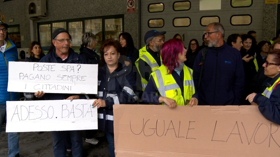 Al via lo sciopero di Poste Spa