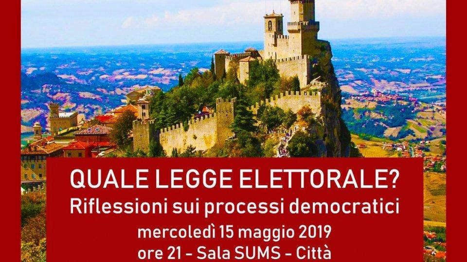 """Fondazione Oltre: """"Quale legge elettorale? Riflessione sui processi democratici"""""""