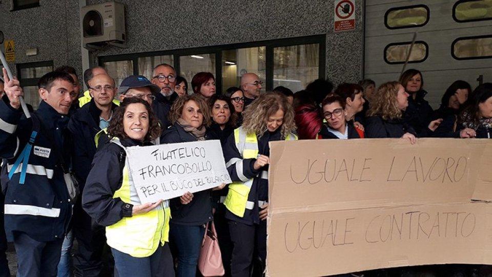 CSU: massiccia adesione allo sciopero dei dipendenti delle poste RSM