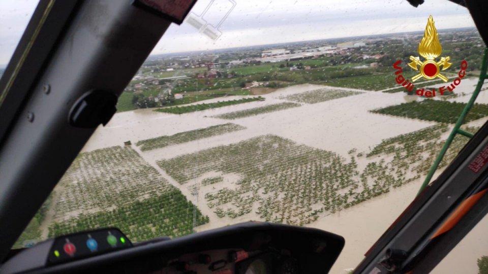 La regione Emilia Romagna chiede lo stato di emergenza