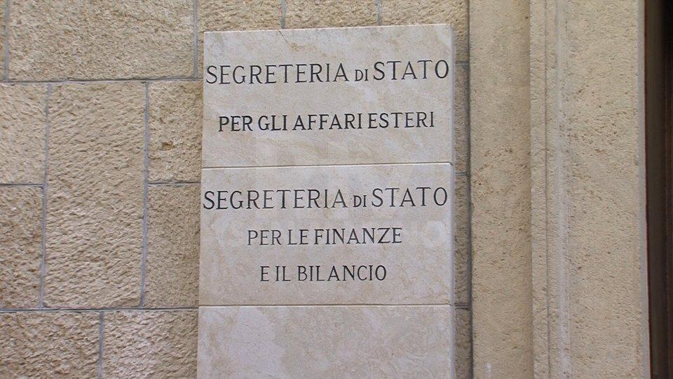 Segreterie a Palazzo Begni
