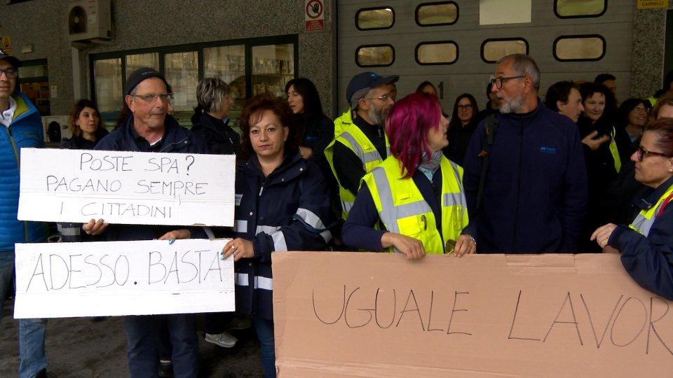 Terza giornata di sciopero del Settore Poste