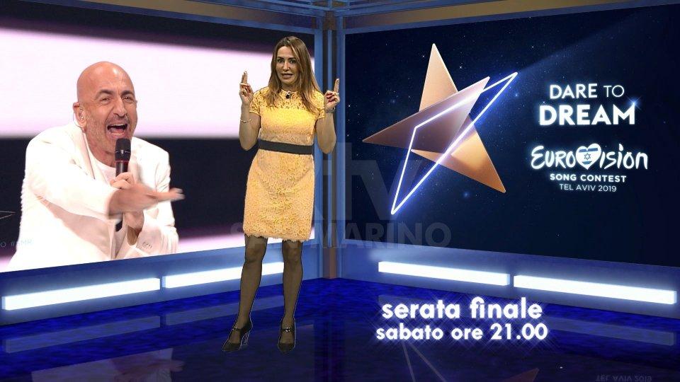 ESC2019: Monica Fabbri presenta la Finale di sabato