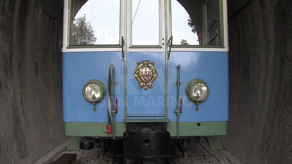 Civico10 dona 5000 mila euro all'Associazione Treno Bianco Azzurro per valorizzare l'area ex stazione di San Marino Città